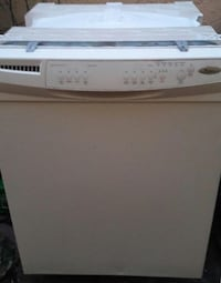 white Whirlpool dishwasher Miami Springs, 33166