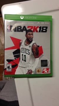 Xbox One NBA 2K18 game case