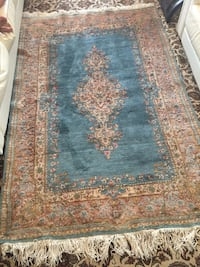 Persian handmade pastel blue rug 5x7ft excellent condition Toronto, M2R 3N1