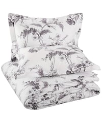 Pinzon Heavyweight Velvet Flannel Full/Queen Duvet Cover Set Mississauga, L5L