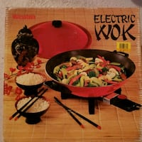 Electric Wok like new Oshawa