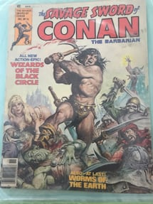 Old Conan Comics