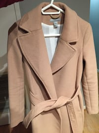 H&M Camel Wool Coat Ladies Toronto, M4Y 1J8
