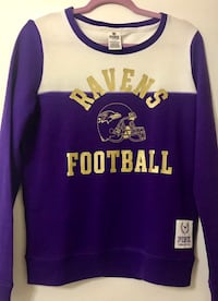 PINK Victoria's Secret NFL Ravens Soft Sweater Small New York, 10459