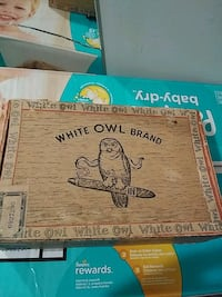 VINTAGE WHITE OWL CIGAR BRAND BOX Pickering, L1V 3V7