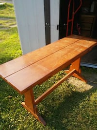 rectangular brown wooden table with chairs Baltimore, 43105
