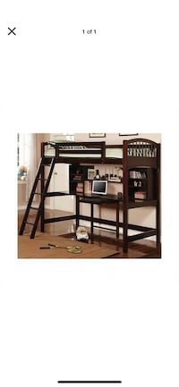 Loft bed twin size with work station. Tulare, 93274