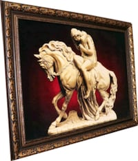 Lady Godiva Pictorial Rug with 3D view 100% silk a Mount Royal, H3P 1A5