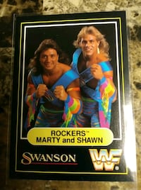 """Swanson """"The Rockers"""" card"""