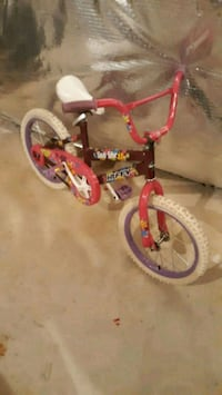 4-7 girl bike Clinton