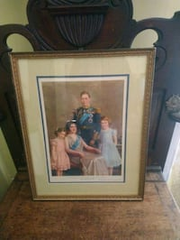 1939 Royal Portrait King George family