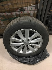 Good condition Kia multiple Multiple spokes tire rims with tires Markham, L3R 2C7