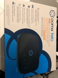 Ooma free home phone service.