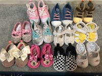 Assorted pairs of shoes lot