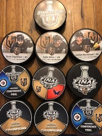 ENTIRE VEGAS GOLDEN KNIGHTS COLLECTION!