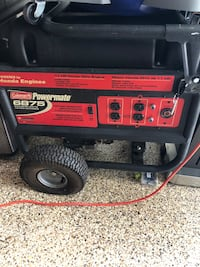 red and black portable generator Alexandria, 22301