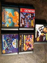 Sega Genesis games 5 for $20