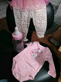 New 6-9 month fisher price outfit and extra 46 mi
