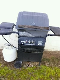 Gas Grill Gray, 37615