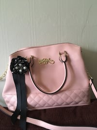 women's pink leather tote bag Tulsa, 74136