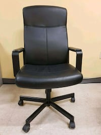 Black Leather Office Chair  Mississauga, L5C 3G1