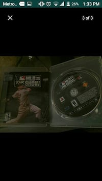 PS3 MLB the show disc screenshot
