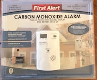 First Alert Carbon Monoxide Alarm. BRAND NEW IN BOX NEVER OPENED