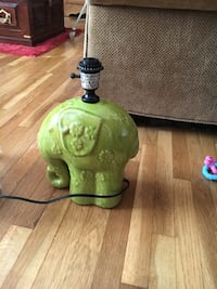 green elephant ceramic table lamp base Ontario, 91761