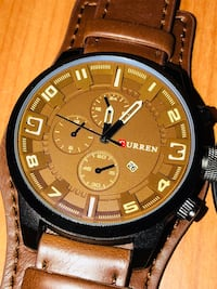 Sophisticated Leather Watch! :)
