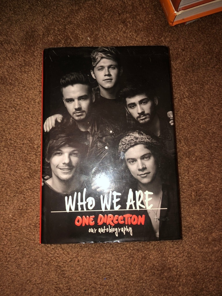Photo One Direction book (one of many)