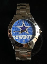 Stainless Dallas Cowboys Watch Baltimore