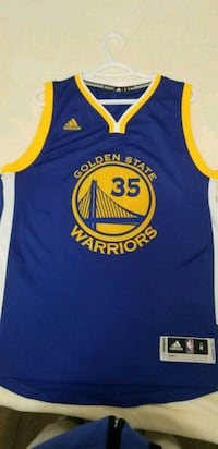 blue and yellow Golden State Warriors Stephen Curr Burnaby, V5H 3W8