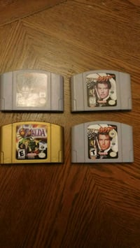 Nintendo 64 Games (Prices in Description) Kitchener, N2K 3W2