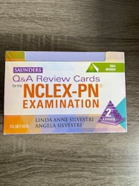 LPN Nclex flash cards never opened