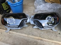 * Toyota Tacoma retro style projector headlights. Sterling, 20164