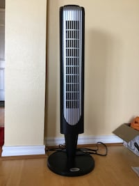 Black and gray tower fan with remote  Mc Lean, 22102