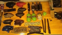 Paintball tanks, hoppers and misc Toronto, M2M 4J5