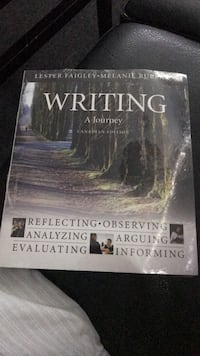 Writing a journey text book  Orillia