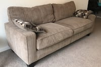 Sofa two pieces.