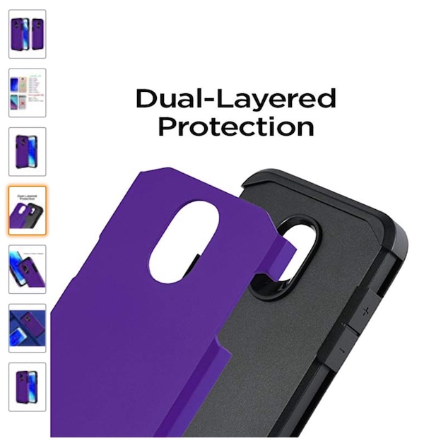 separation shoes e01c0 7d99d Samsung Galaxy J7 Refine Case,Samsung Galaxy J7 2018 Case,Samsung Galaxy  J7V J7 V 2nd Gen/J7 Star Case with Screen Protector, Dual Layer Armor  Hybrid ...