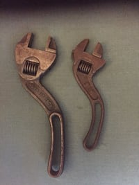 Keystone angel crescent wrenches made in the USA early 1900's  Orange, 92865