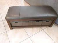 wonderful leather storage bench 48 x 20 x 20 Albuquerque, 87121
