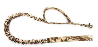 Army style collars and leashes
