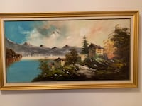 Gorgeous Signed Painting 53.5 inch by 30.5 inch Toronto, M3C 4C4