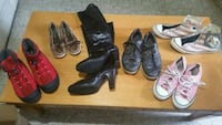 Selection of shoes all for$10 San Antonio, 78233