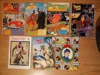 Comics-Vintage 1965 Treasure Chest-7 issues Stratford