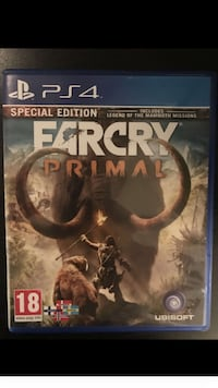 Far Cry Primal Sony PS4 spill tilfelle