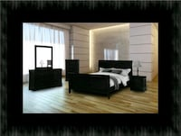 11pc black bedroom set Columbia