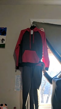 red and black zip-up jacket Winnipeg, R3G 2B3