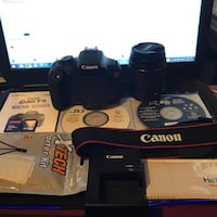 EOS Rebel T6 EF-S 18-55mm IS II Kit (Used Once) Lawrence
